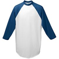Augusta Youth 3/4-Sleeve Baseball Jersey Thumbnail