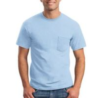 Gildan Heavy Cotton ® 100% Cotton T Shirt with Pocket Thumbnail