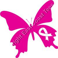 Cancer Ribbon Butterfly 2 Thumbnail