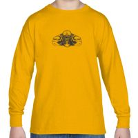 Gildan Youth 5.3 oz. Long-Sleeve T-Shirt Thumbnail